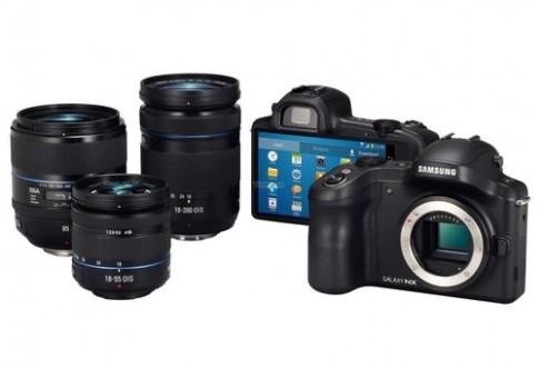 Samsung ra máy ảnh ống kính rời chạy Android vào tháng 6