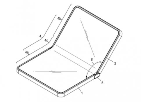 Samsung sẽ làm smartphone có thể gấp lại
