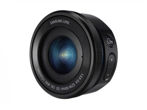 Samsung thêm hai ống kính 16-50 mm cho máy ảnh Galaxy NX
