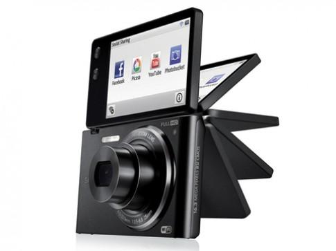 Samsung thêm máy compact màn hình lật có Wi-Fi