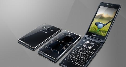 Samsung trình làng điện thoại nắp gập chạy Android cấu hình cao với Snapdragon 808 và Camera 16MP.