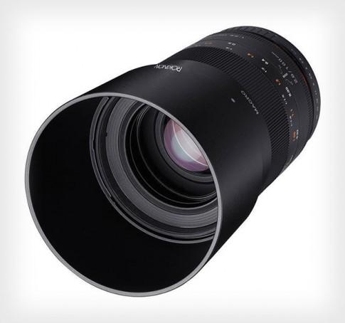 Samyang ra mắt ống kính Rokinon 100mm f/2.8 Macro giá 549$