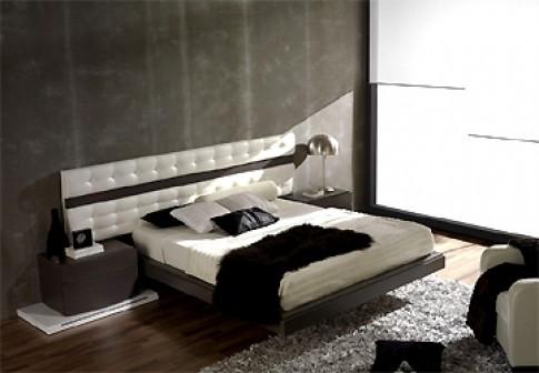Sang trọng phòng ngủ đen trắng