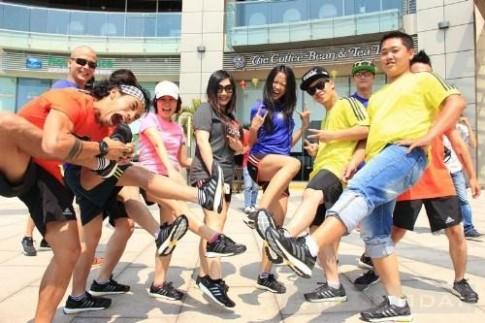 Sao Việt trẻ trung với trang phục thể thao