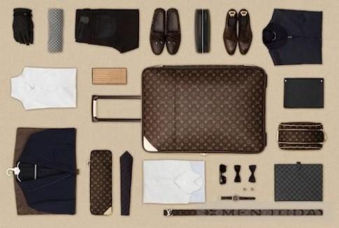 Sắp xếp đồ cho một chuyến công tác