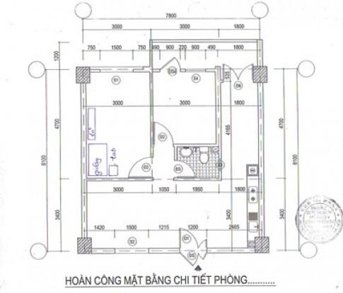 Sắp xếp lại nội thất chung cư 71 m2