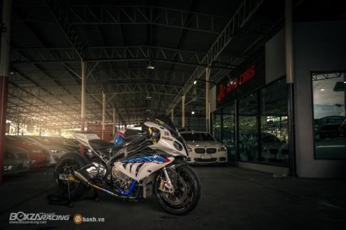 Siêu cá mập - BMW S1000RR độ phong cách Dragbike