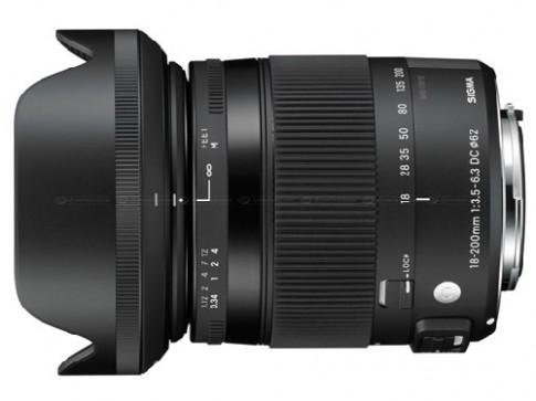 Sigma giới thiệu 2 ống kính tiêu cự 50 mm và 18-200 mm