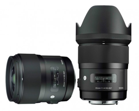 Sigma giới thiệu ống 35 mm f/1.4 DG HSM