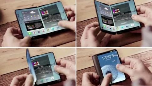 Smartphone gấp được của Samsung sẽ bán trong năm sau