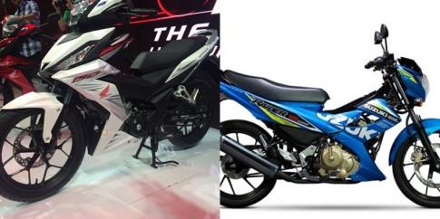 So sánh Honda Winner 150 vs Raider 150
