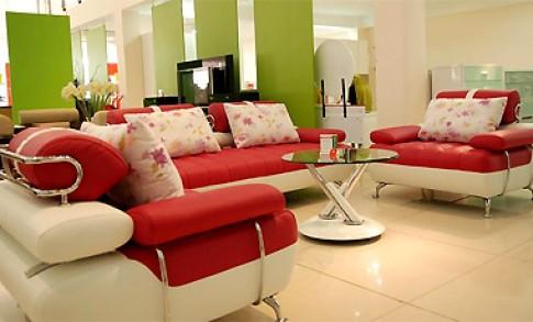 Sofa nhiều màu sắc