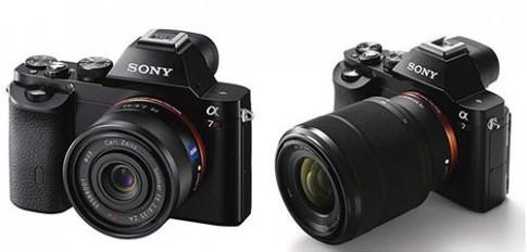 Sony A7, A7R về Việt Nam đầu tháng 12
