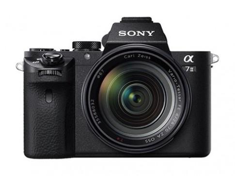 Sony Alpha A7 II trình làng với cảm biến chống rung 5 trục