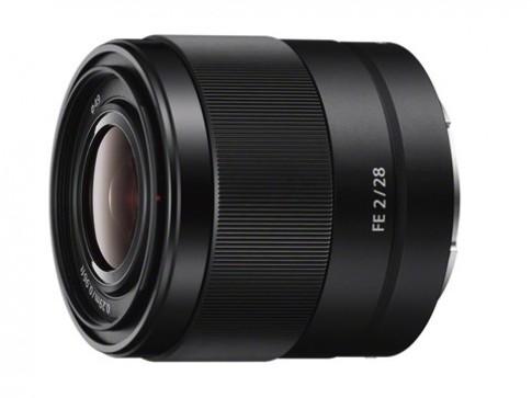 Sony ra 3 ống kính fix và một ống zoom cho máy full-frame