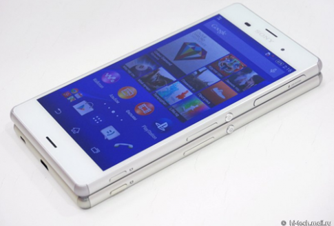 Sony ra mắt Xperia Z3 : Mỏng hơn, camera trước tốt hơn Z3