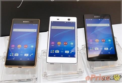Sony Xperia M5 Gold: Sang trọng và lộng lẫy