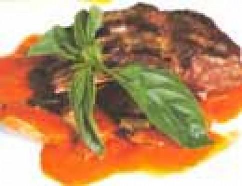 Sườn cừu nướng sốt ớt