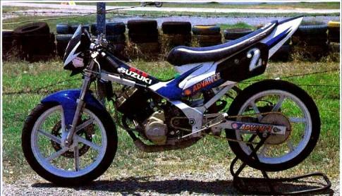 Suzuki Raider R150 phiên bản đua