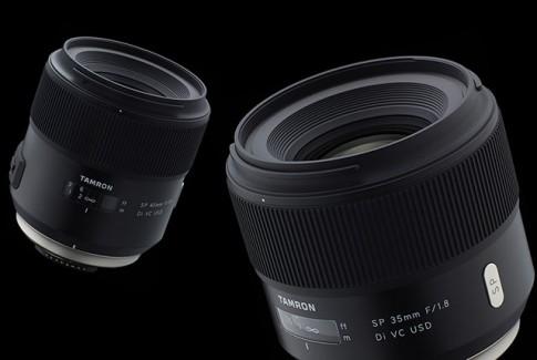 Tamron ra mắt hai ống kính chuyên nghiệp 35mm và 45mm f/1.8: tích hợp chống rung trong ống kính