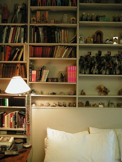 Tạo thư viện trong phòng ngủ