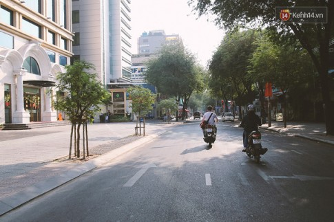 Thích lắm một Sài Gòn bình lặng và không còn vội vã những ngày đầu năm mới...