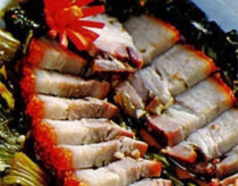 Thịt quay thế nào cho giòn?