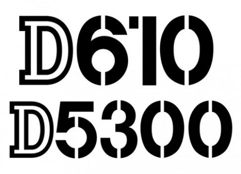 Thông số kỹ thuật Nikon D610 và D5300 xuất hiện
