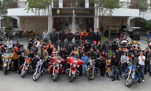 Thú chơi Harley Davidson của người Hà Nội