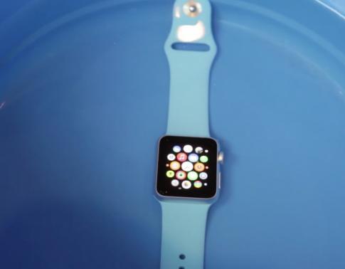 Thử nghiệm đi bơi cùng Apple Watch