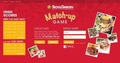 Thử tài trí nhớ cùng Seoul Garden Match-up Game