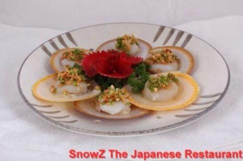 Thực đơn của SnowZ The Japanese Restaurant