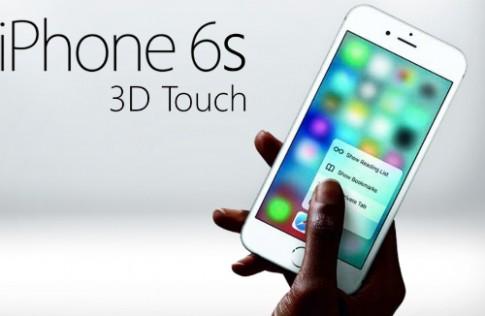 Tính năng 3D Touch trên iPhone gây thất vọng