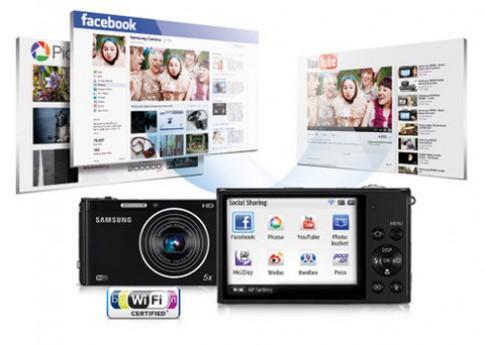 Tính năng 'độc' của máy ảnh Samsung DV300F