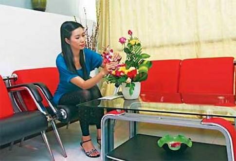 Tổ ấm của diễn viên Trịnh Kim Chi
