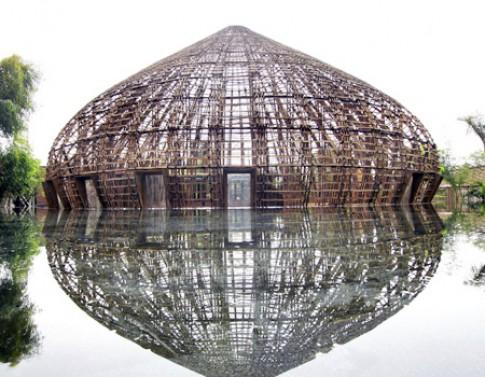 Tòa nhà làm từ tre Việt đoạt giải thiết kế xanh