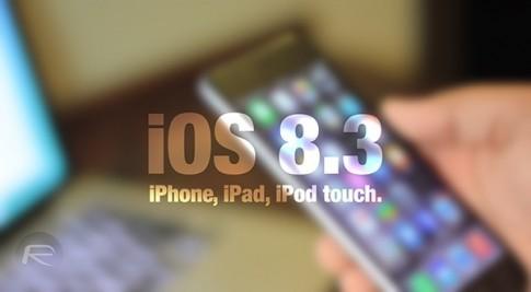 Tổng hợp link tải iOS 8.3 cho tất cả thiết bị iOS