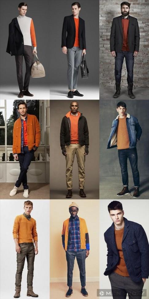 Tổng hợp xu hướng thời trang nam thu đông 2013