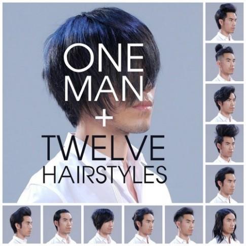Trai đẹp biến hình với 12 kiểu tóc thời thượng nhất hiện nay