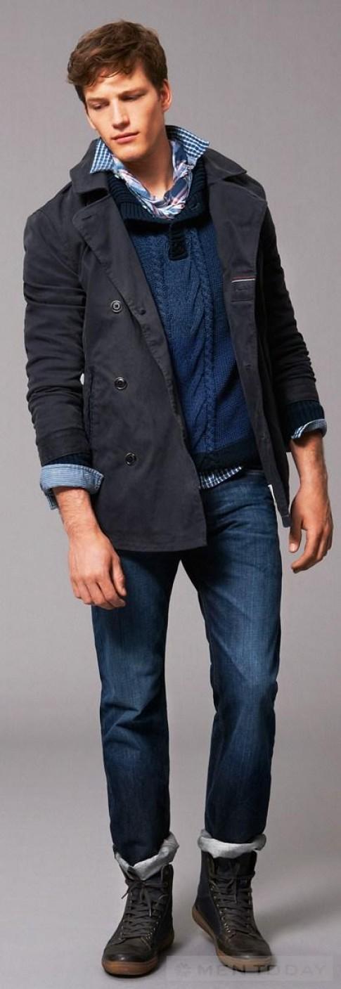 Trang phục denim từ Tommy Hilfiger cho nam giới mùa đông