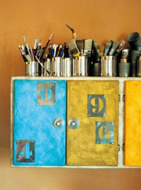Trang trí nhà với chữ và số