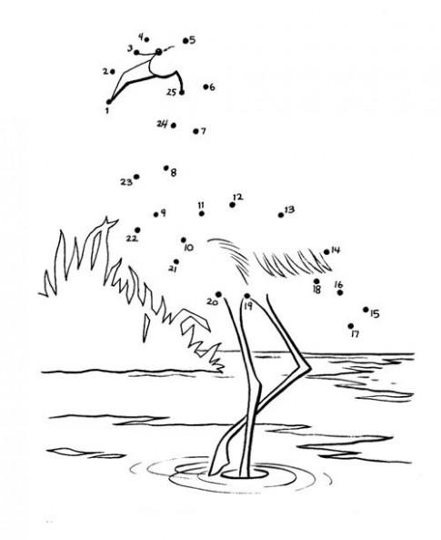 Tranh nối 'Con cò lặn lội bờ sông'
