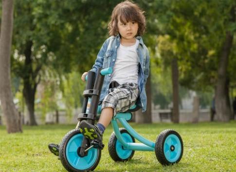 Trẻ hay gặp nạn với xe đạp ba bánh ở tuổi lên 2