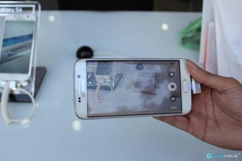 Tren tay nhanh Galaxy S6 va S6 Edge