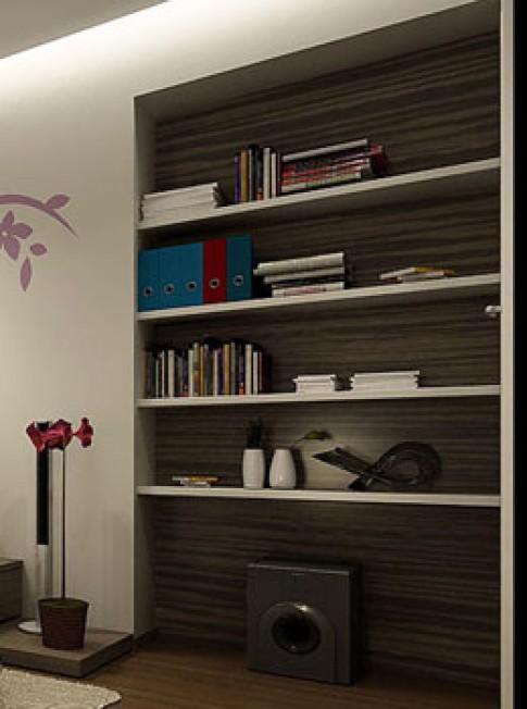 Tủ âm tường trong nội thất