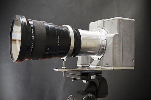 Tự chế máy ảnh medium-format 143 'chấm' từ máy quét