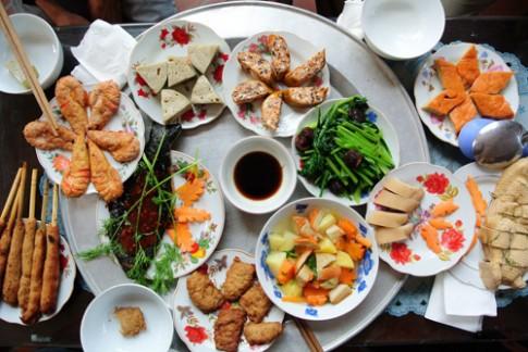 Tự làm buffet chay hấp dẫn mùa Vu lan