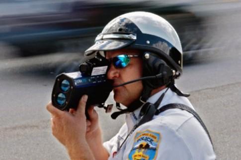 Tự thú của cảnh sát giao thông Mỹ