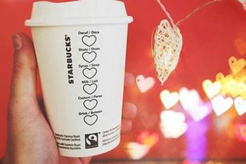 Valentine cùng Starbucks