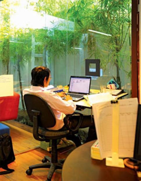 Văn phòng trong ngõ